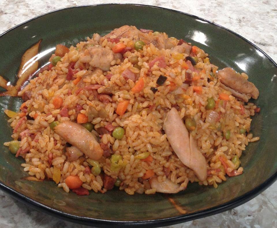 Arroz salteado con pollo y vegetales chef edgardo noel comida pinterest arroz salteado - Arroz salteado con pollo ...