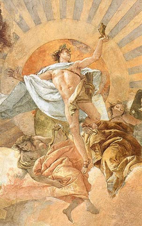 Apollo and the Continents, 18thC, G B Tiepolo | Исторический