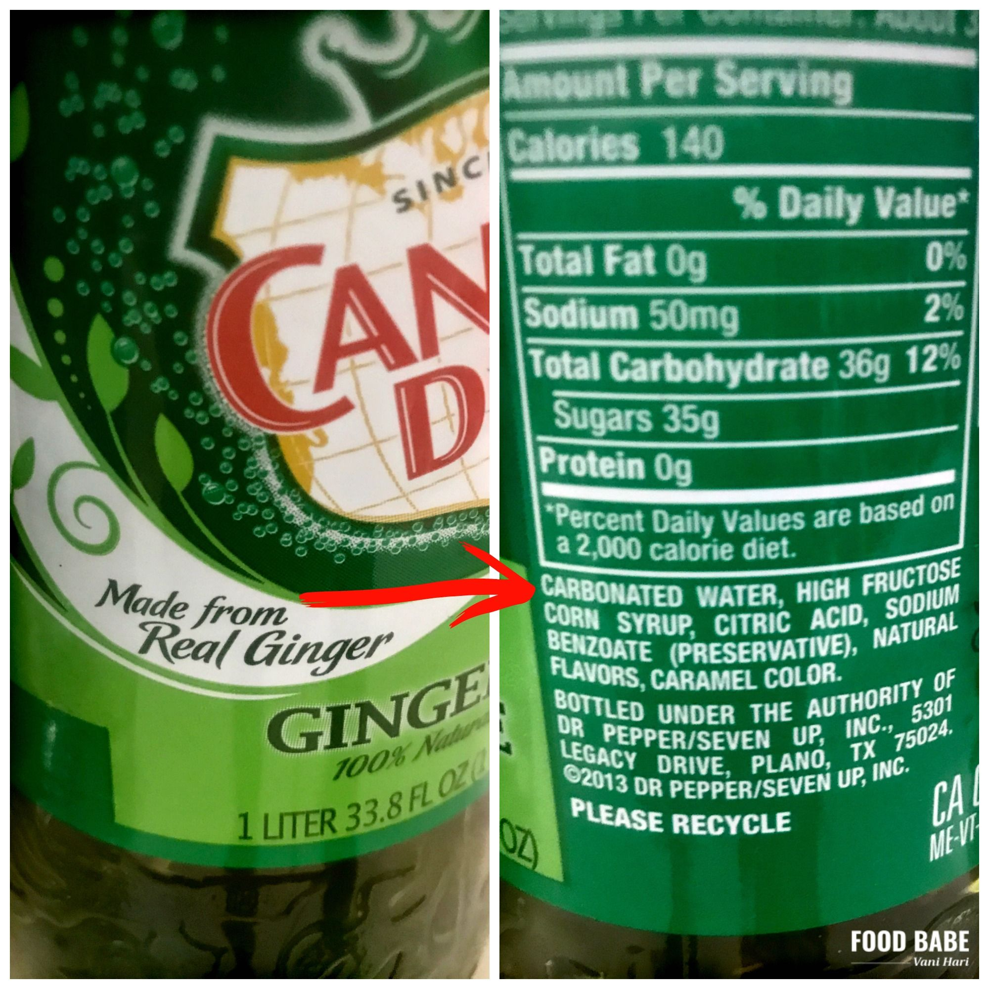 Food Labels Are Lying To You Spot These Lies On The Package Food Labels Dry Ginger Natural Flavors