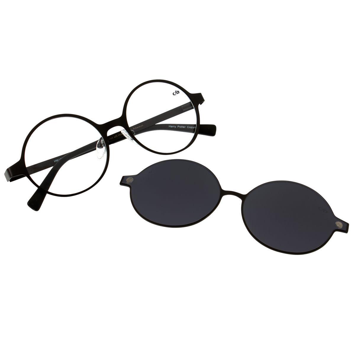 Armacao Para Oculos De Grau Unissex Harry Potter Preto Chilli