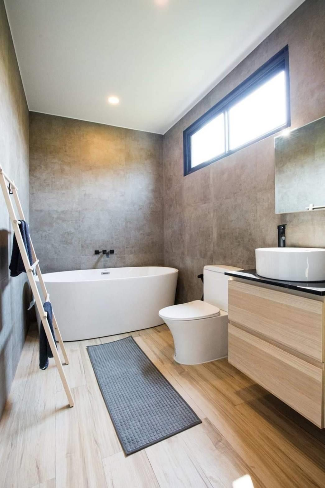 Polished Concrete Bathroom In 2020