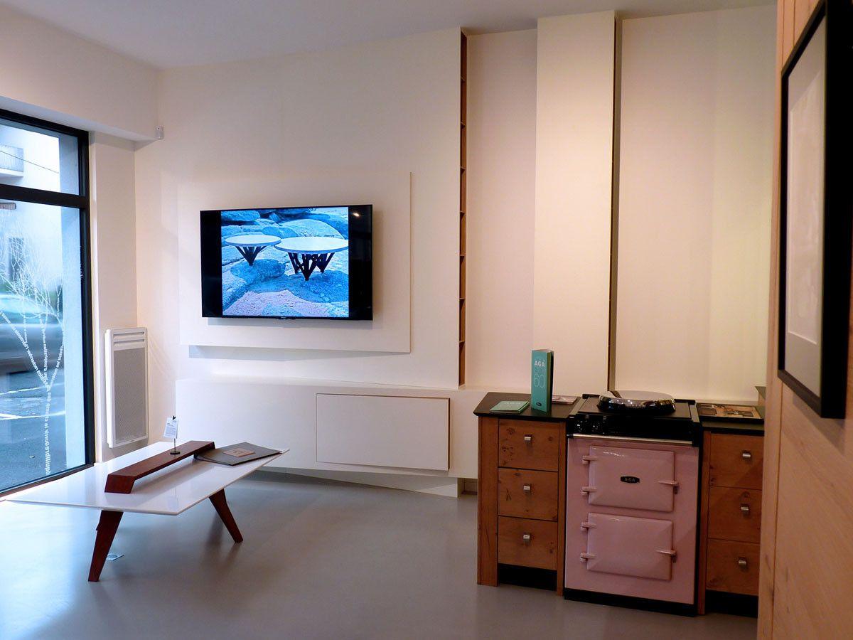 Ateliers Malegol 230 Rue St Malo Rennes Meuble Tv Design  # Meuble Tv California