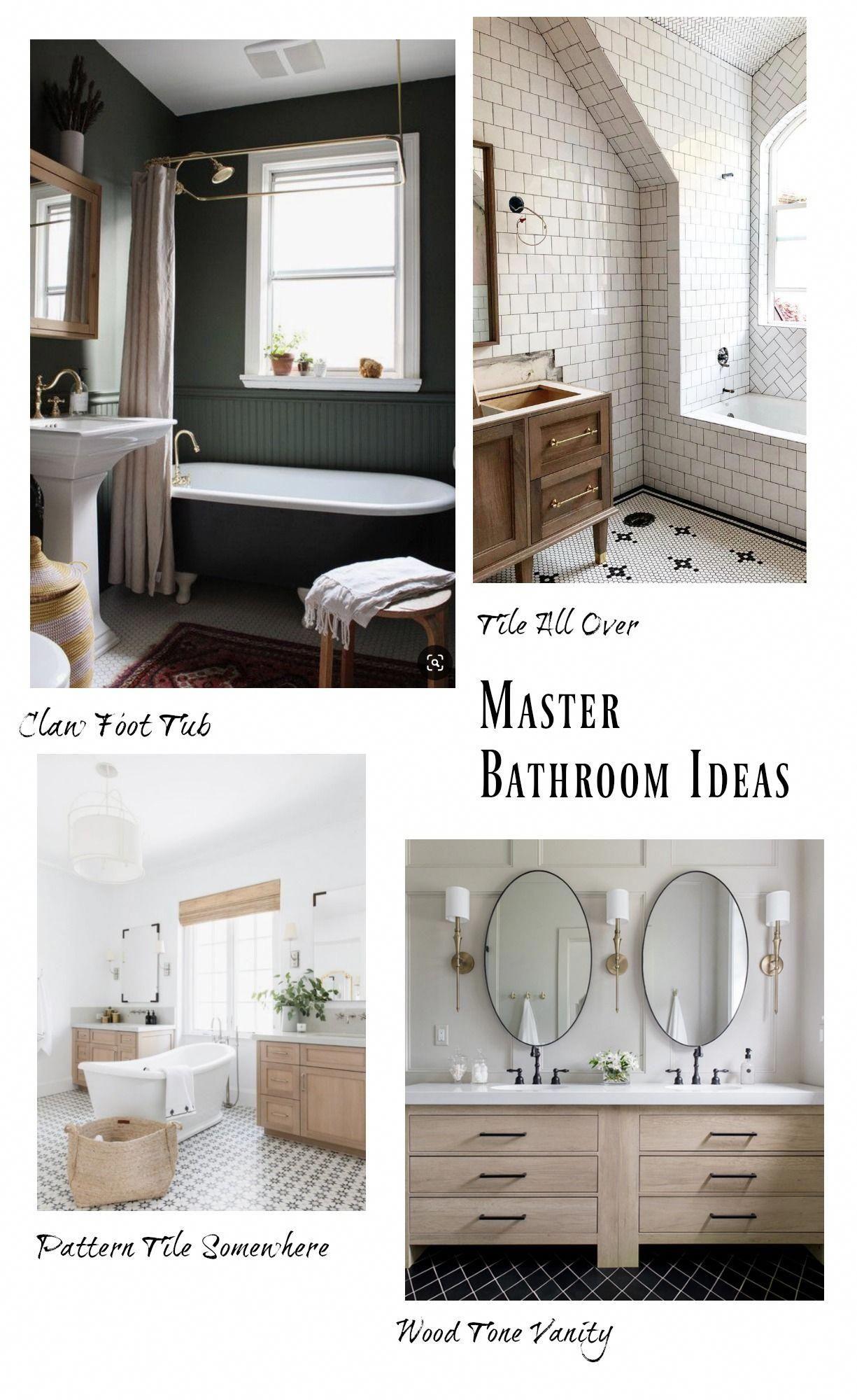 Affordable Master Bathroom Vanity Ideas In 2020 Simple Bathroom Decor Bathroom Farmhouse Style Bathroom Design Inspiration