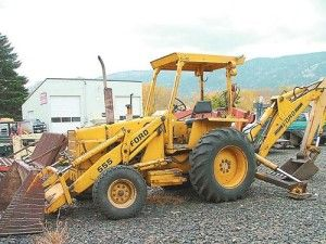 Ford 550 555 Tractor Backhoe Loader Service