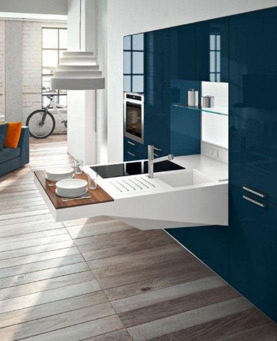 Snaidero la cucina compatta funzionale ed elegante per piccoli spazi kitchen inspirations - Cucina compatta ...