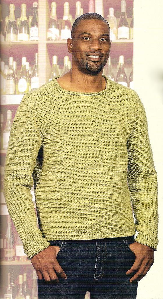 Free crochet sweater pattern: Comforolled   Crochet Clothing/Outfits ...
