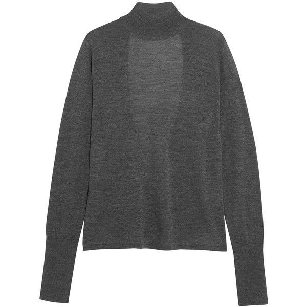 ceee47a17 Dion Lee Open-back merino wool turtleneck sweater ( 385) ❤ liked on ...