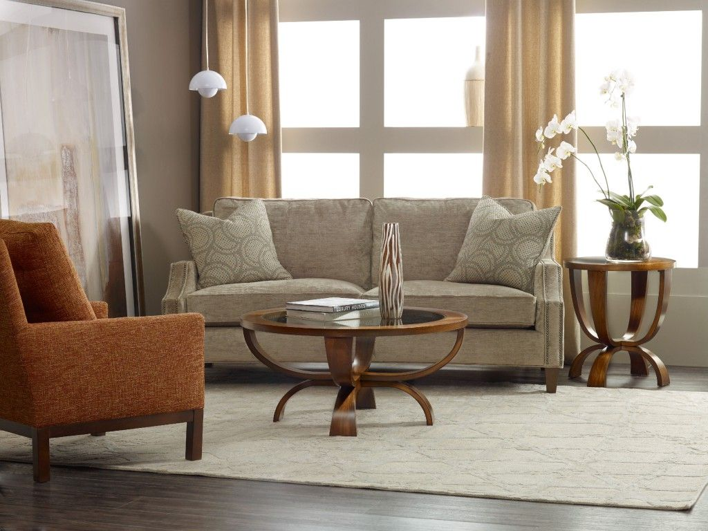 These Shapely Viewpoint Tables Are Lustrous And Make The