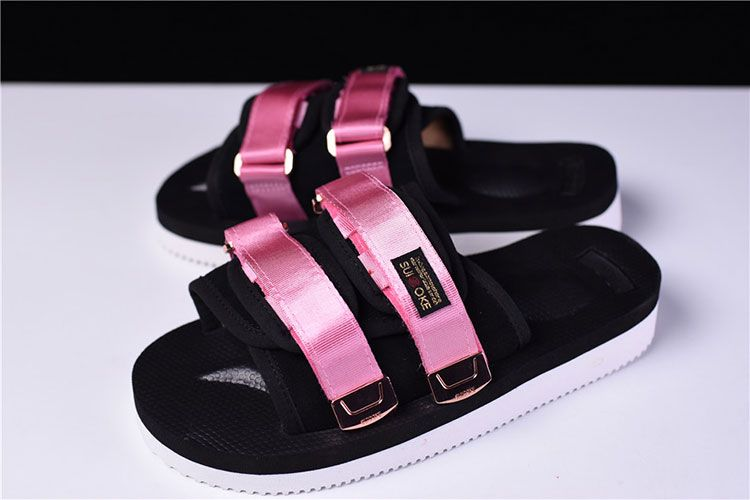84be326c1e5f CLOT x Suicoke MOTO-VS sandals women s slippers casual shoes black pink