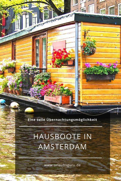 Diese Hausboote in Amsterdam sind einfach fantastisch! | Urlaubsguru