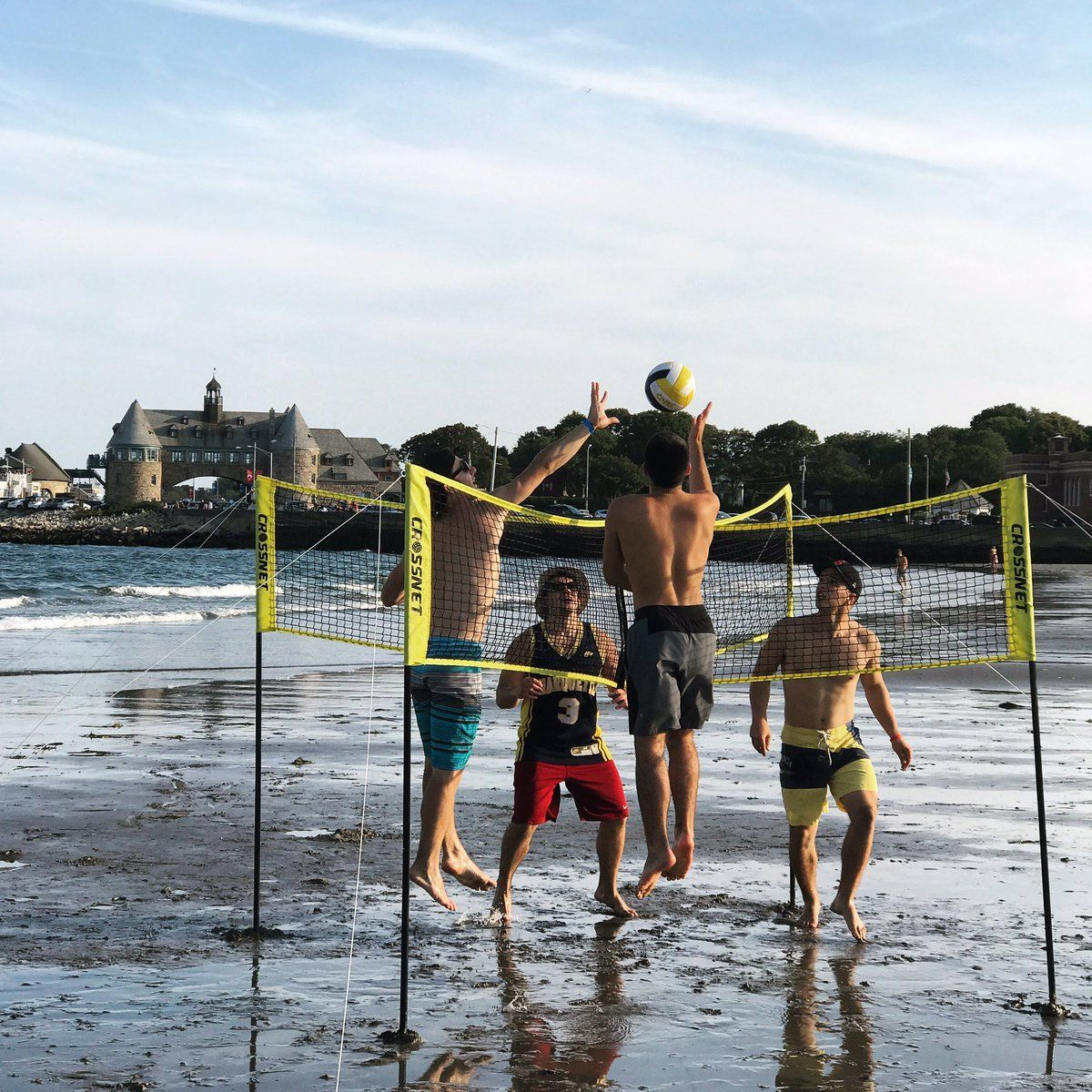 Image Result For Crossnet Volleyball Volleyball Skills Volleyball Volleyball Net