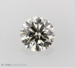 Egl Israel Graded Round Diamond 0 52 Carat G Color Si1 Clarity Round Diamonds Diamond Egl