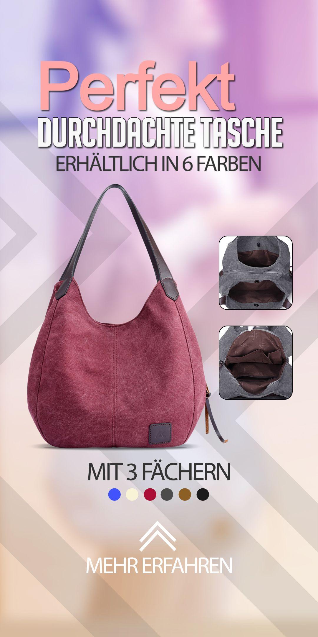 Die perfekt durchdachte Tasche. Die Eliana besticht durch ihr tolles Design sowi…