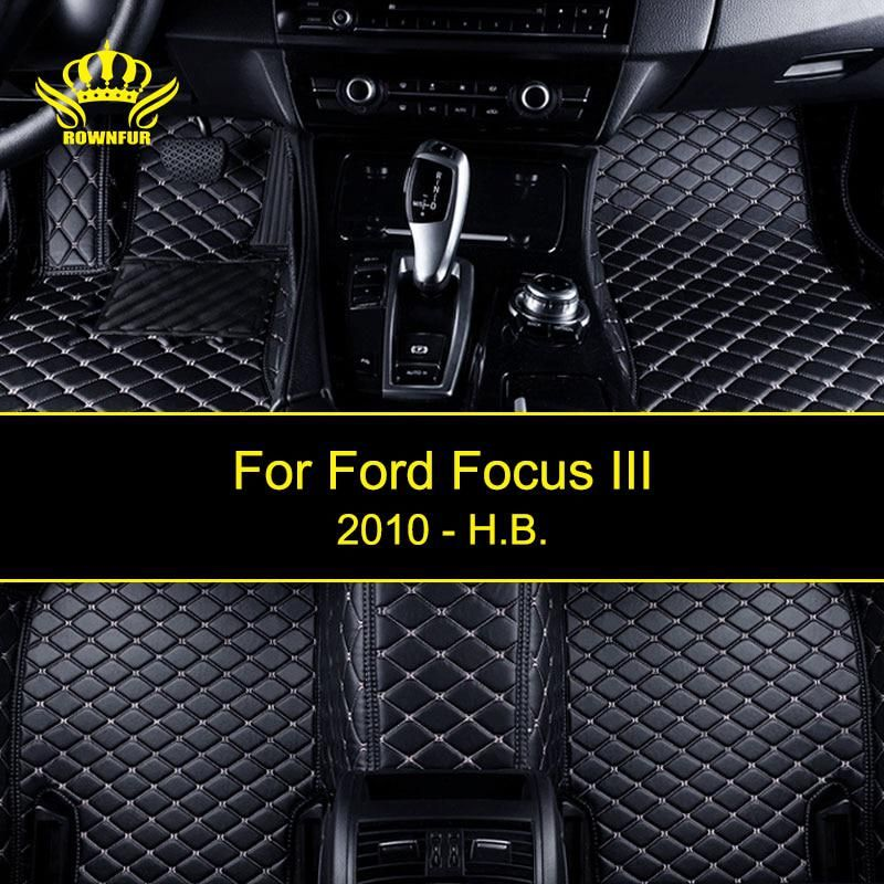 3d Custom Car Floor Mats For Ford Focus Iii Artificial Leather