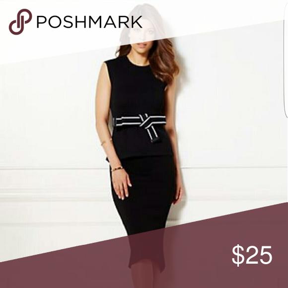 Eva Mendes Skirt Black Sweater Skirt New York & Company Skirts Midi