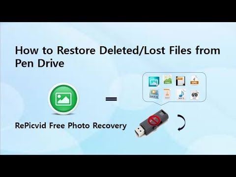 How To Recover Deleted Files From Pen Drive Pen Drive Driving