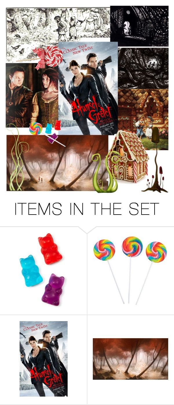 """""""Hansel and Gretel"""" by zebedeeraven ❤ liked on Polyvore featuring art"""