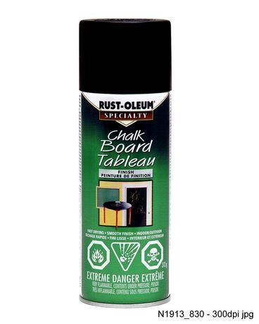 Rust Oleum Specialty Chalkboard Black 312g Walmart Ca Rustoleum Gloss Spray Paint Shutters For Sale