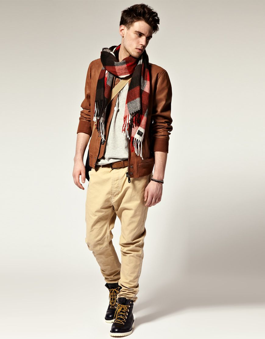 Leather Grey Tee Brown Belt Sable Chinos Boots Men Fashion My Style If I Could Afford