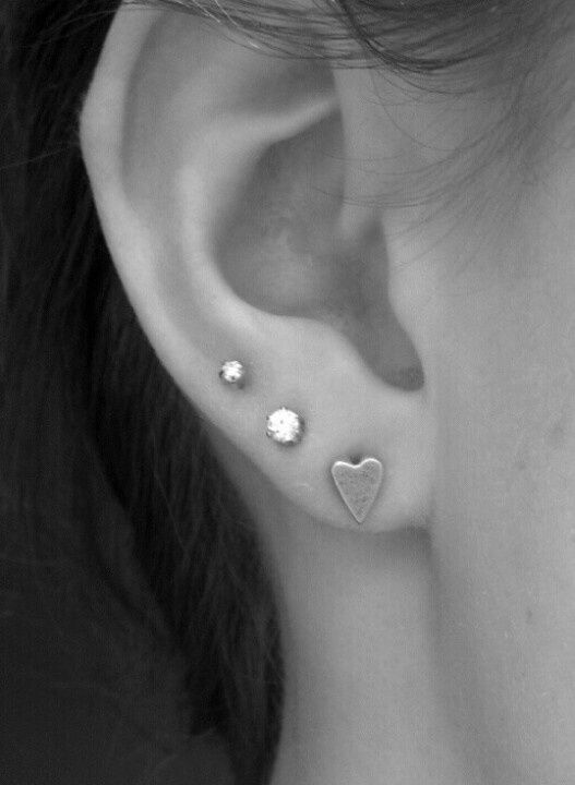 Ear Piercings Three Google Search