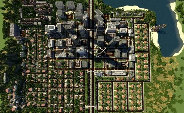 Los Angelcraft Huge City Map (3) | minecraft | Minecraft city