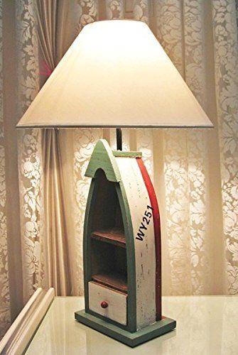 Nautical Rustic Coastal Boat Table Lamp Nautical Lamps Beach