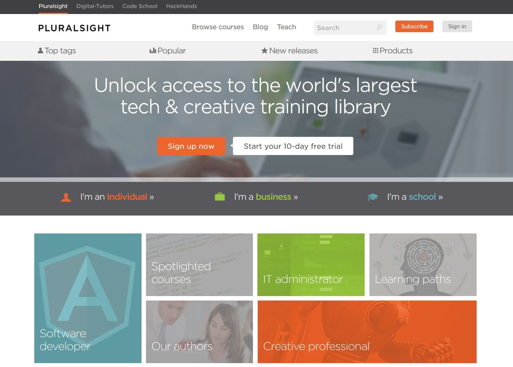 Pluralsight | Our mission is to publish high quality online