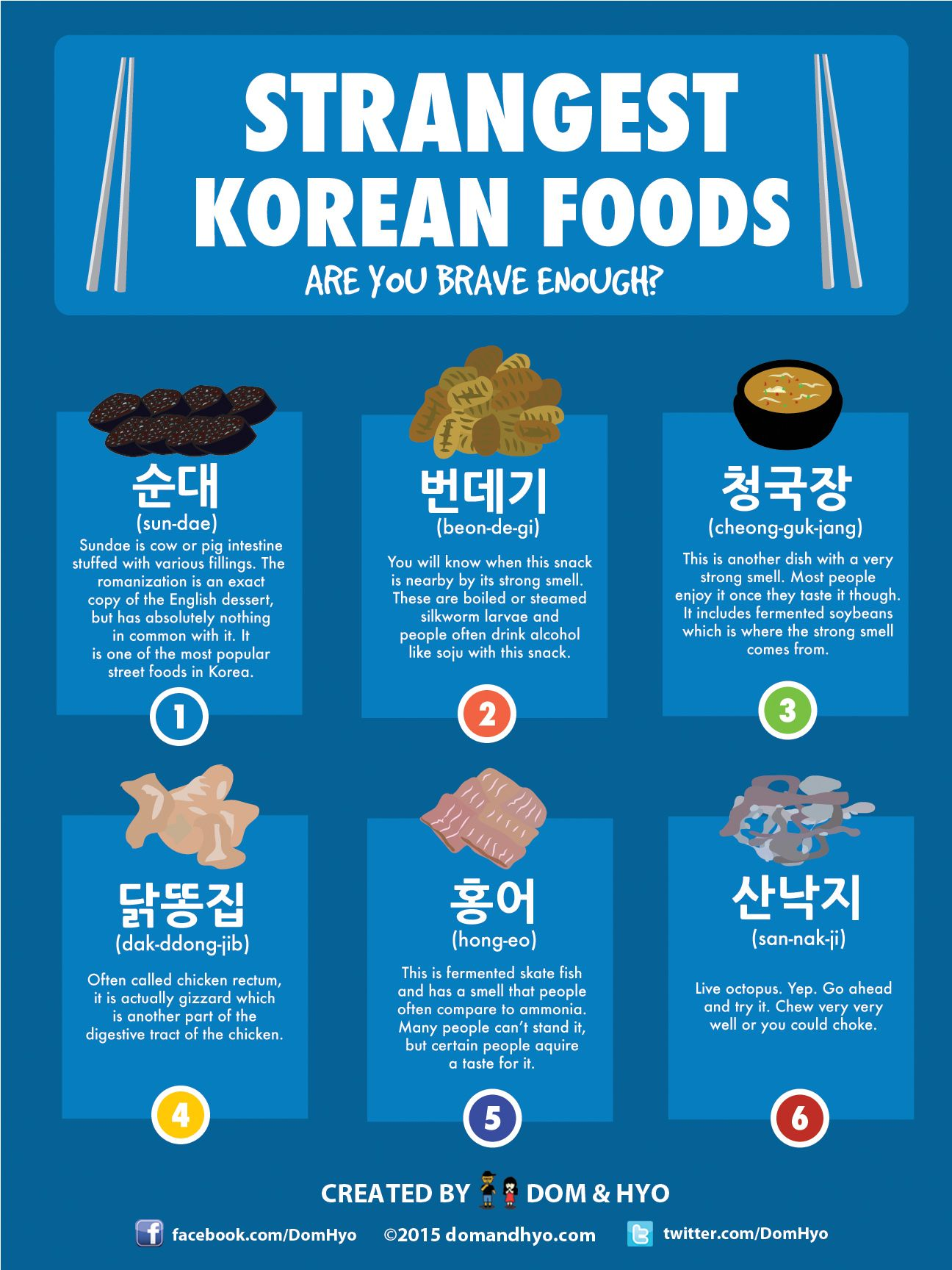 Korean Food 6 Strange Foods To Eat In Korea With Images
