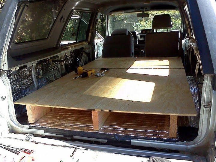 Overland Travel Sleeping Platform 4runner Toyota 4runner Truck Bed