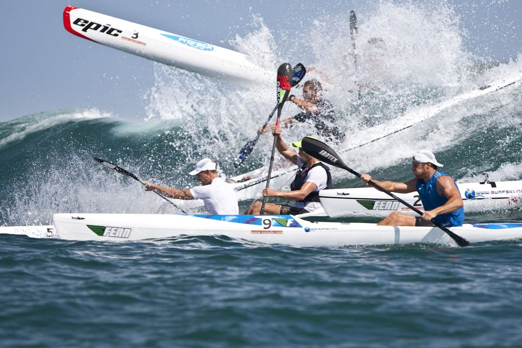 Surfski race in Mauritius. Ride the wave with LUX