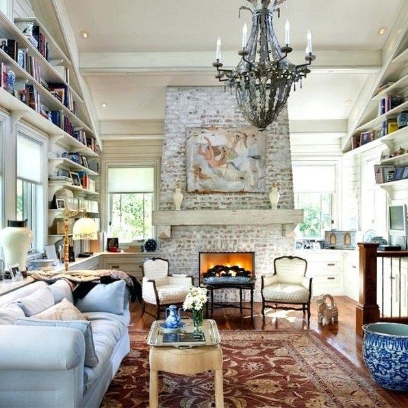 Ѵ Extraordinary Ideas Of Living Room With Fireplace