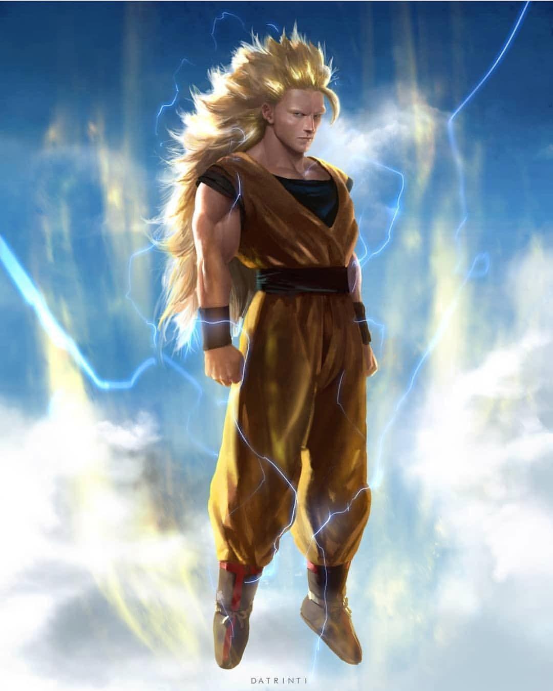 Ss3 Goku Real Life Transformation
