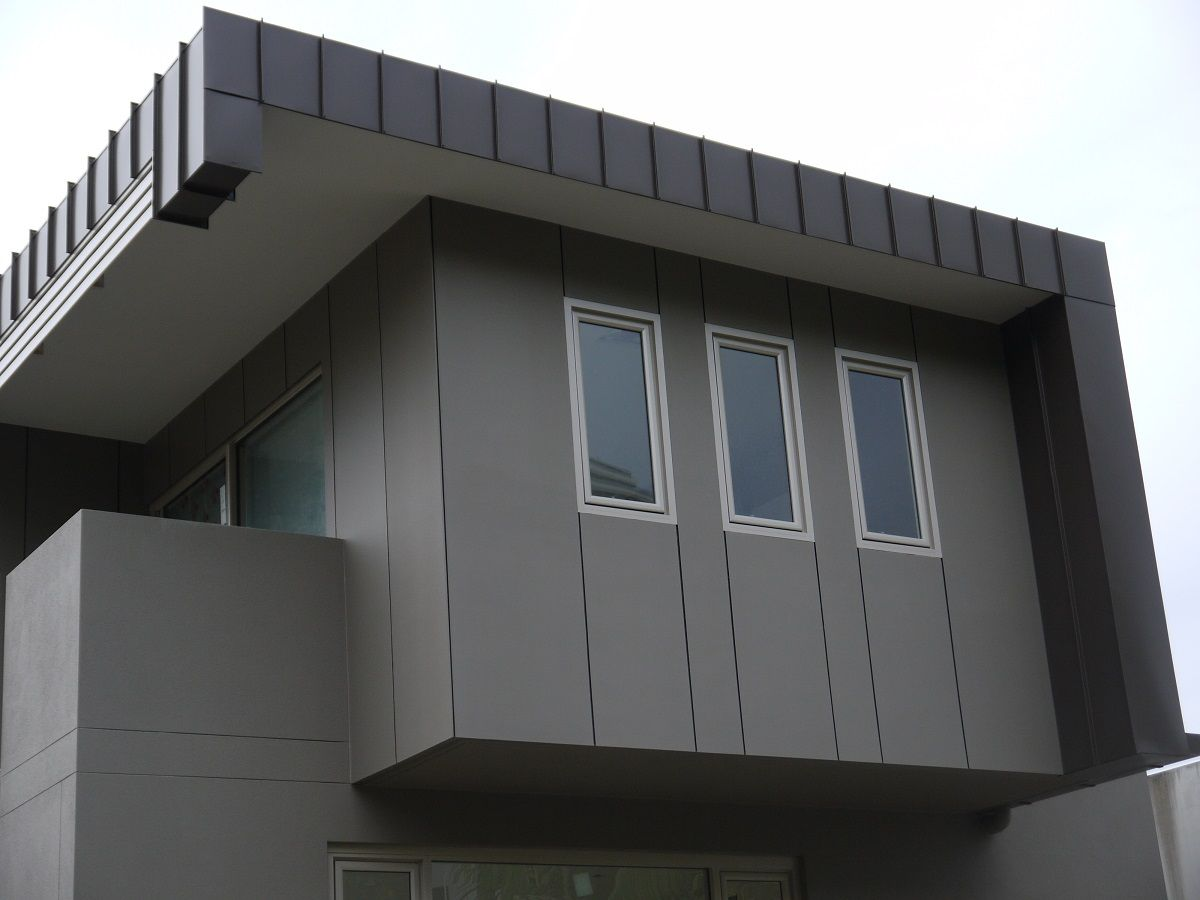 Tugan Gold Coast Standing Seam Aluminium Cladding