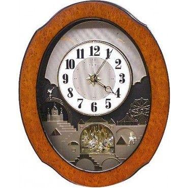 Rhythm Timecracker Legend Musical Motion Wall Clock 4mh835wb06 This Clock Plays 6 Beatles Melodies Clock Wall Clock Rhythm Clocks