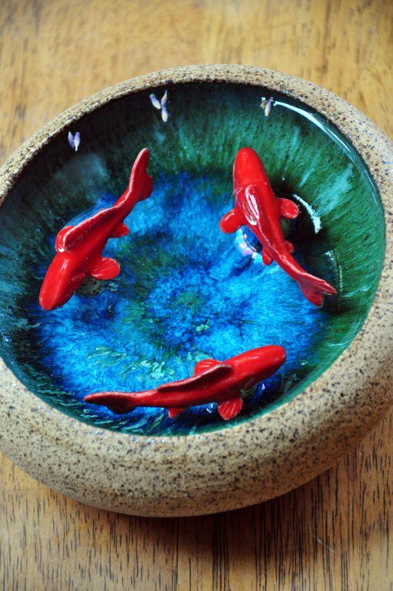 Because it 39 s a koi bowl my wishlist pinterest koi for Koi fish bowl