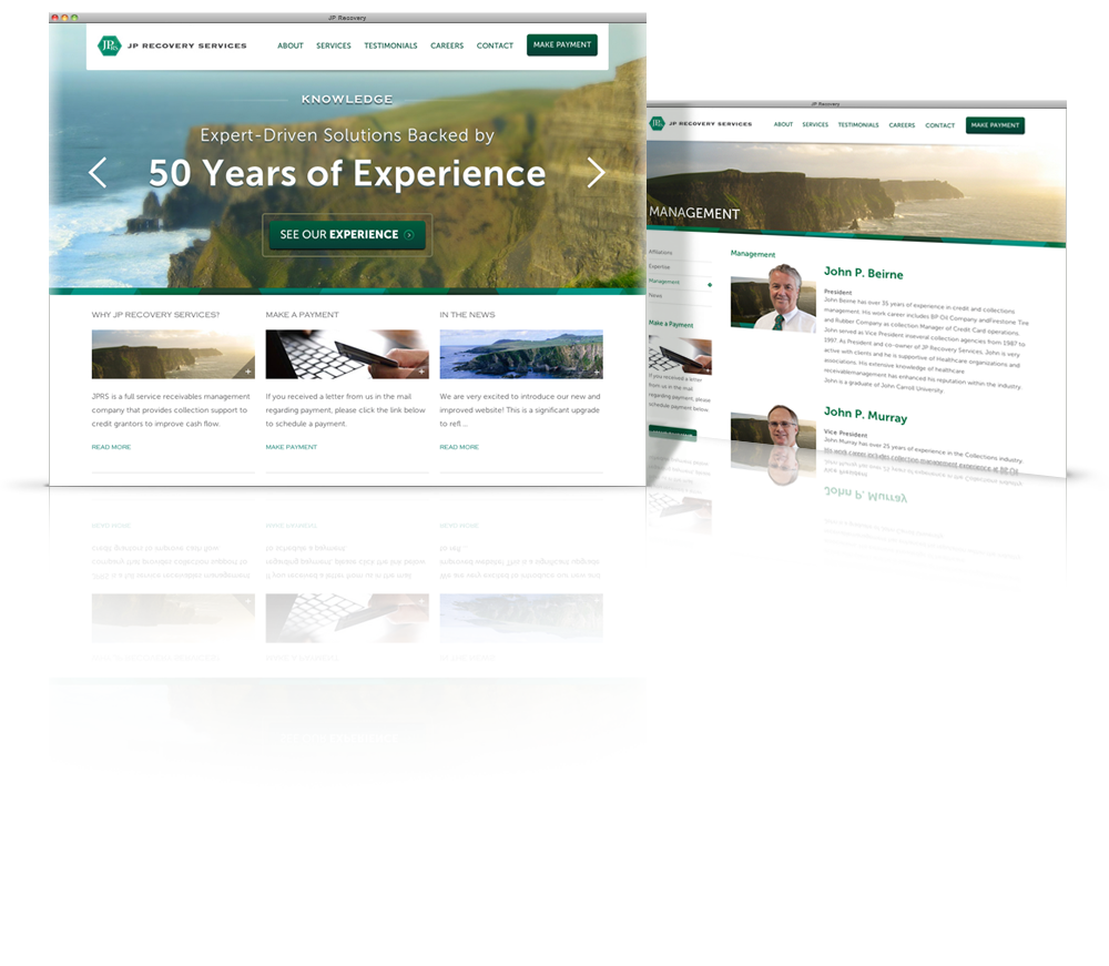 jp recovery client creative websites pinterest portfolio design