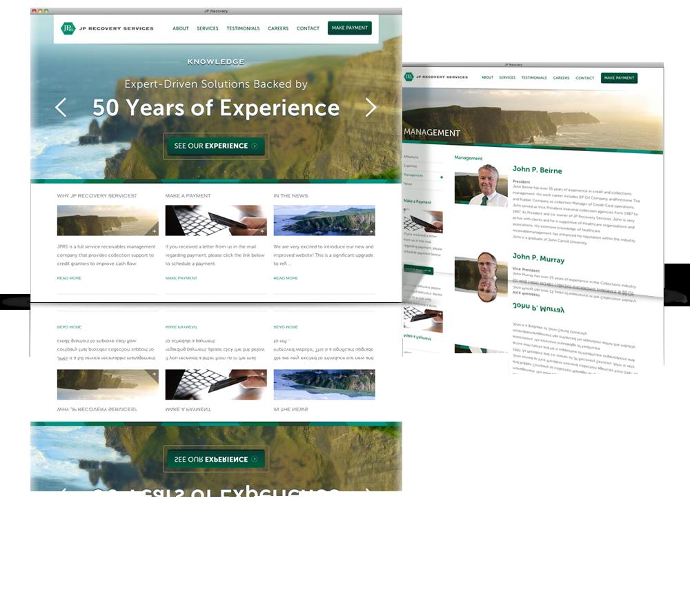 jp recovery client creative websites pinterest portfolio design