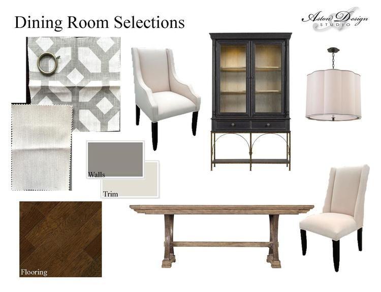 Dining Room Selections Digital Storyboard By Interior Designer Carla Aston