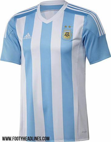 7895a1eac Argentina 2015 Copa América Kits - Footy Headlines