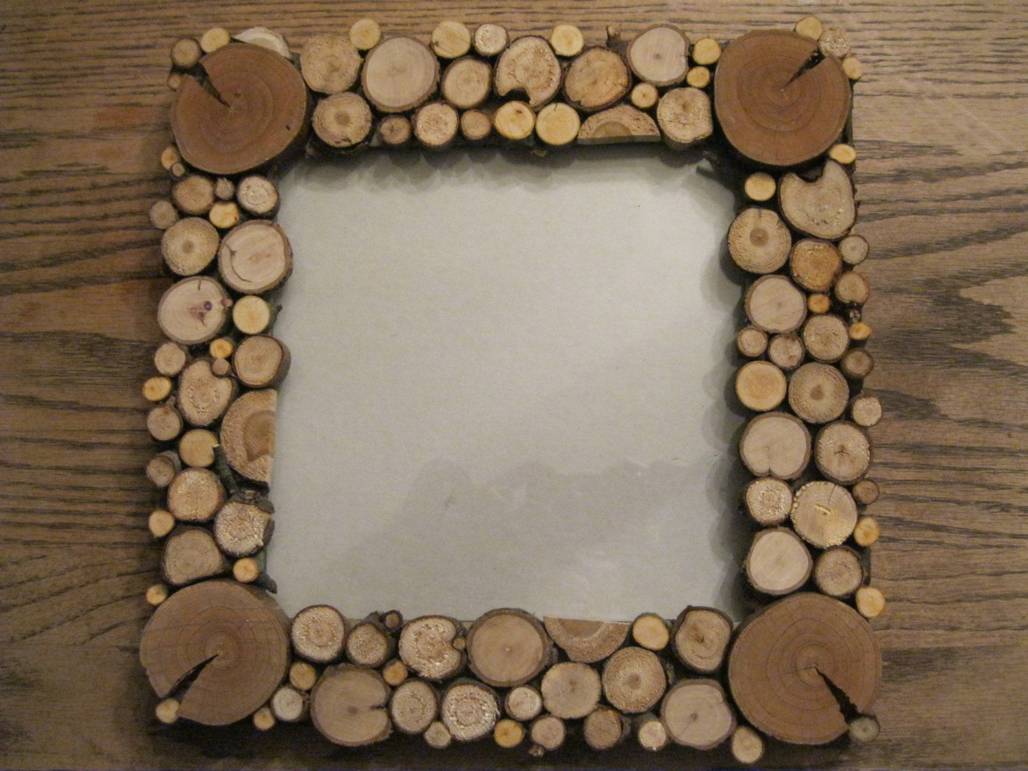 Tree Slice Picture Frame Wood Slice Wedding Frame Rustic Wedding Frame Lodge Decor Woodland Weddings Cabin Decor Wood Slices Rustic Wedding Frame Lodge Decor