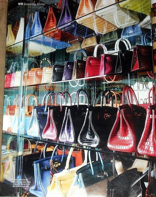 69a18d535b89 Lust4labels Jamie Chua Largest Hermes Collection Birkin Kelly ...