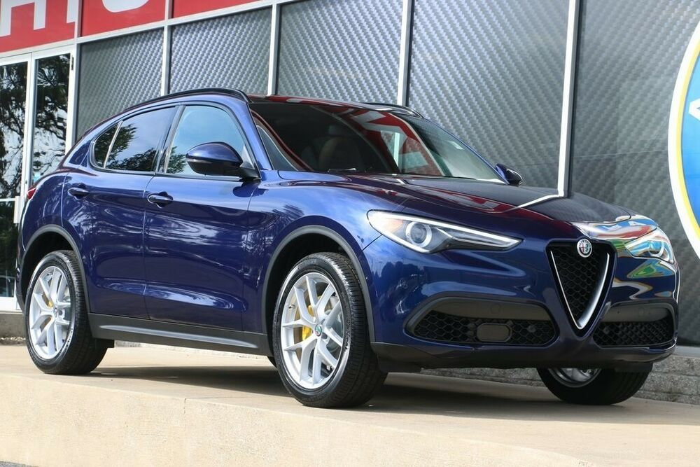 2019 Alfa Romeo Stelvio Ti Sport FREE SHIPPING New Alfa