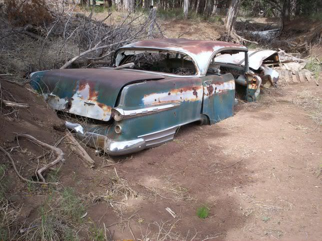 Exploring Arizona Abandoned Wrecked Cars Trucks Old Hiways
