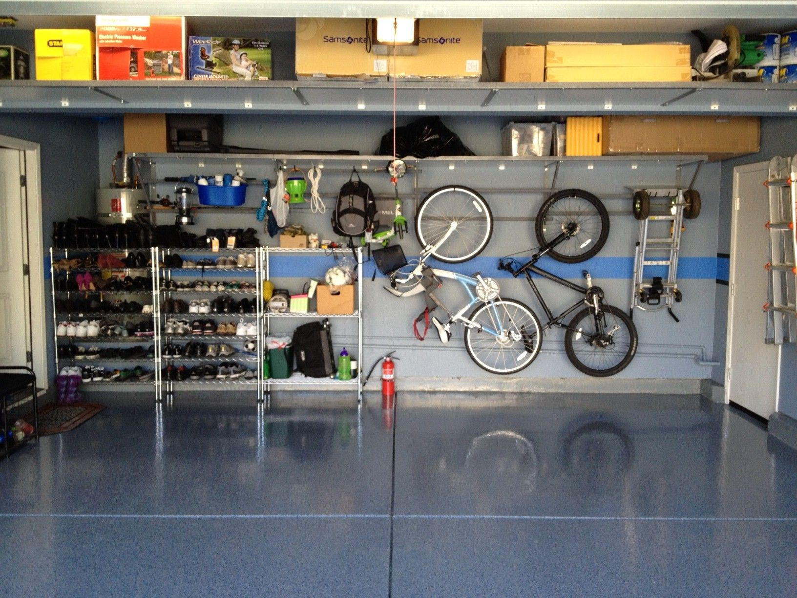 Garage organization tips new home designs the best garage - Garage Shelving Bay Area Overhead Shelves