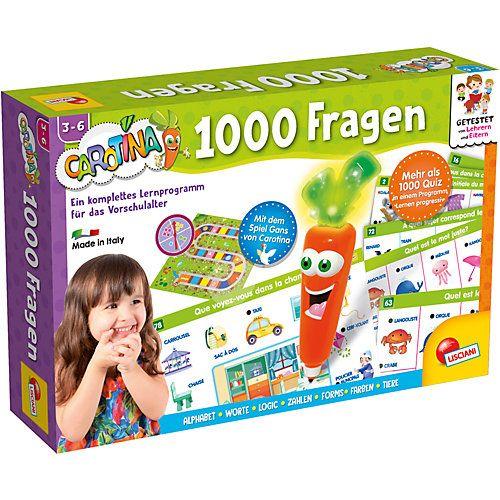 Carotina enthält ein komplettes Lernprogramm für Vorschulkinder. In diesem umfangreichen Spiel sind viele interaktive Lernkarten mit mehr als 1000 Aufgaben! Zusammen mit Carotina, der leuchtenden und jubelnden Karotte, gilt es, die richtigen Antworten zu finden.  Details: - Lernquiz - ideal für Vorschulkinder - 1000 Aufgaben
