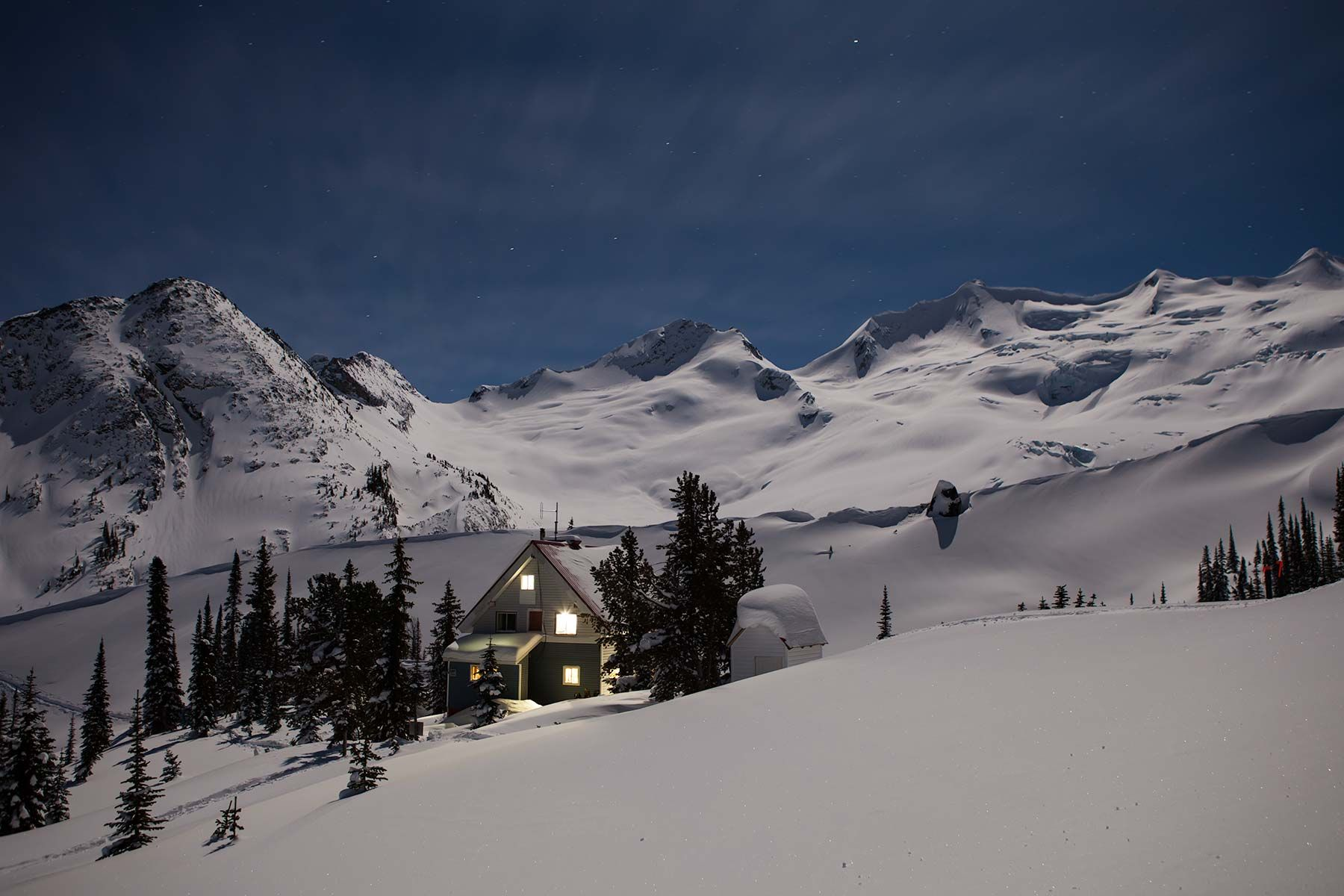 Sorcerer Lodge | Backcountry Lodge | Ski Touring | Backcountry Skiing | Golden British Columbia | Selkirk Mountains | Snowboarding | Mountaineering | Powder Snow