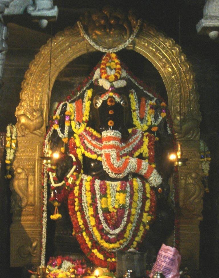 Kurudumale Mahaganapati, mulabagilu, kolar district karnataka
