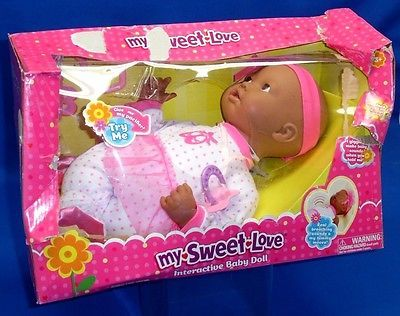 "My #sweet love interactive baby doll 15"" #african #american heavy box damage a054,  View more on the LINK: 	http://www.zeppy.io/product/gb/2/361496620456/"