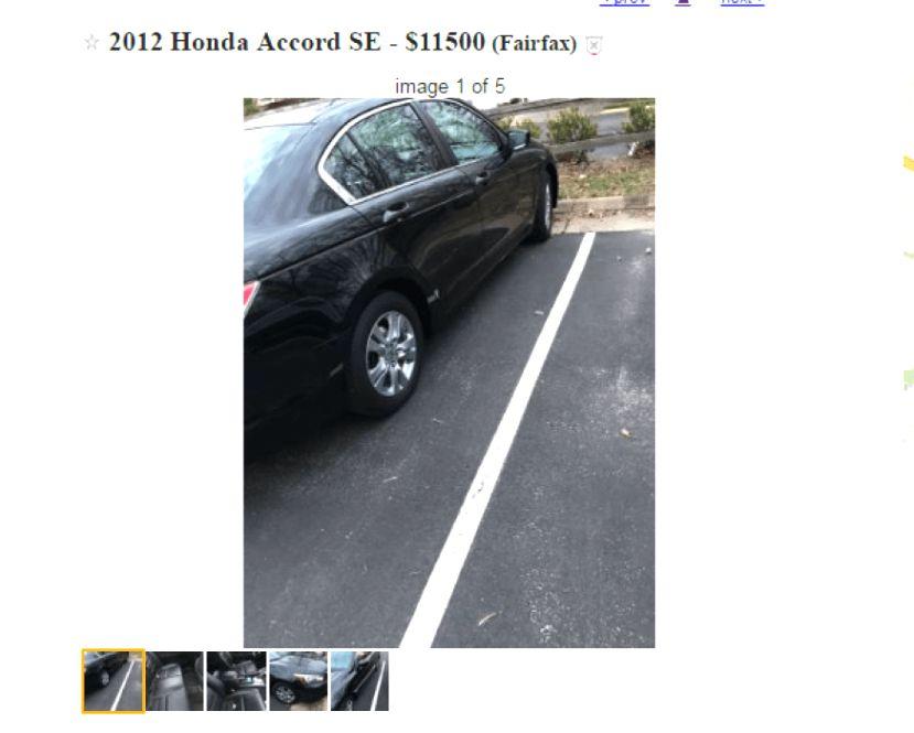 30 Honda Accord for Sale Craigslist Dh0p di 2020