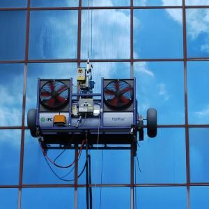 Window Cleaning System For High Rise Buildings